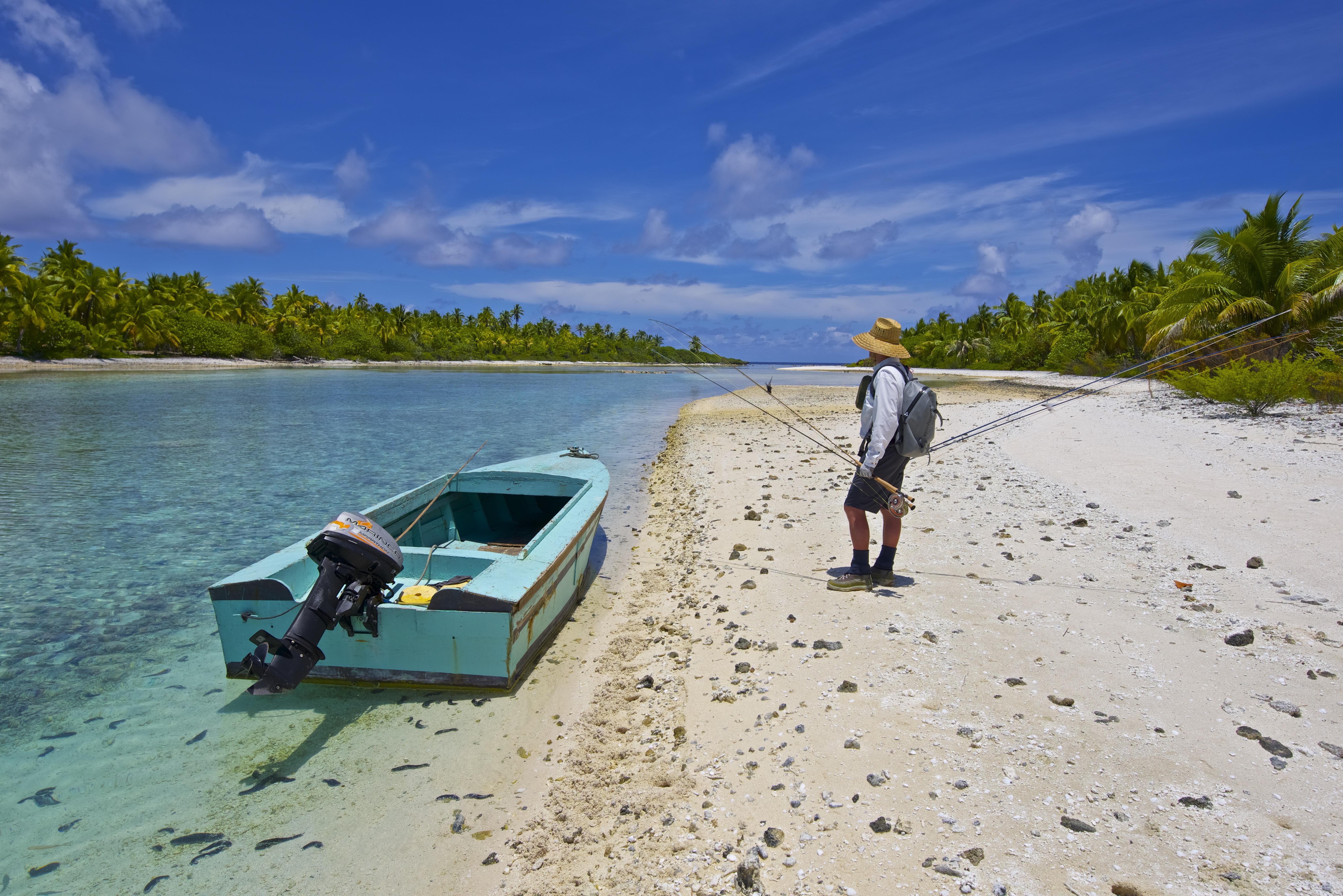 Josh Gallivan Fly Fishing - Tahiti